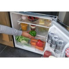 Buy Russell Hobbs RHUCFF50B Under Counter Fridge Freezer - Black at Argos.co.uk…