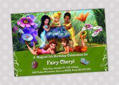 Items similar to Tinkerbell Birthday Party Invitation - Digital File on Etsy 5th Birthday, Birthday Celebration, Birthday Parties, Julia, Birthday Party Invitations, Tinkerbell, Birthdays, Handmade Gifts, Etsy