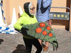 【宮崎駿】川崎のハロウィンに出現した「衝撃のコスプレ」がマジ衝撃的