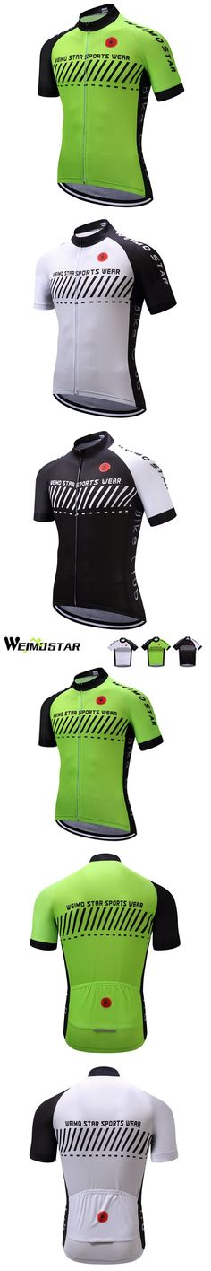 WEIMOSTAR Pro Team Men's Bike Bicycle Cycling Jersey Ropa Ciclismo Sports Mens Cycling Clothing Short Sleeve Shirts Tops S-XXXL #cyclingshirt