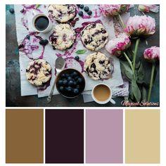 Blueberry Scones Color Palette
