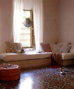 EN MI ESPACIO VITAL: Muebles Recuperados y Decoración Vintage: Rincones de lectura muy especiales { A nice place for reading }