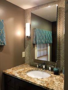 Lisa Scheff Designs - Small Bathroom Vanity