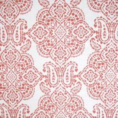 Paisley in Dark Salmon from Plumwich