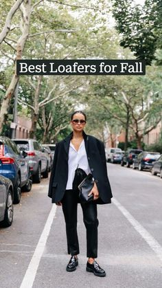 Cool Street Fashion, Street Chic, Business Outfits, Business Casual, Best Loafers, Chunky Loafers, Fall Outfits, Fashion Outfits, Fall Capsule Wardrobe