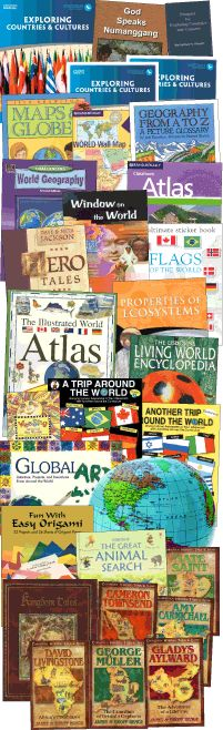 My Father's World Homeschool Curriculum - Grades 2 - 8 Exploring Countries & Cultures
