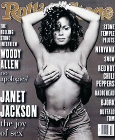 Janet Jackson (1993) | The 25 Sexiest Rolling Stone Covers Of All Time