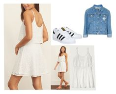 """""""What I'm wearing to the Black and White Dance"""" by soccer-freak9 ❤ liked on Polyvore featuring Abercrombie & Fitch, adidas and Topshop"""