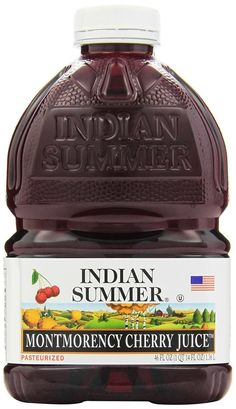Indian Summer 100% Juice Montmorency Cherry 46-Ounce Containers (Pack of 8)