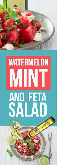 Watermelon Mint and Feta Salad Recipe Featuring Kasandrinos Extra Virgin Olive Oil   Certified Paleo by the Paleo Foundation #certifiedpaleo @kasandrinos