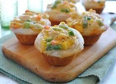 Chicken Pot Pie Cupcakes - making this ASAP!!!