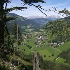 View onto Aschau from Spiessnaegel.