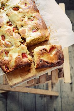 Plum Cake {Cheese Cake} by things{we}make.