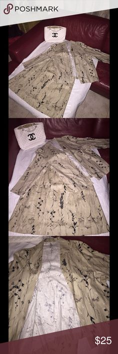 Skirt Suit Tan And Black white Plus size Beautiful 3 piece skirt suit size 16 has maxi skirt and three quarter length jacket Skirts Maxi