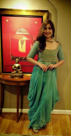 Anamika Khanna suit from the Grand Trunk