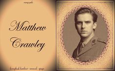 Downtown Abbey: Earl of Grantham's heir and Lady Mary's husband Matthew Crawley