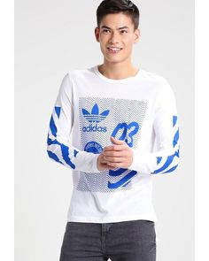 Adidas Originals | White Nyc Long Sleeved Top for Men | Lyst