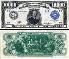 Wondering What To Do With 10000 Dollars - What Should You Do With 10000 Dollars Thousand Dollar Bill, 10000 Dollars, Federal Reserve Note, Rare Coins Worth Money, Vintage Magazine, Money Notes, Coin Worth, Bullion Coins, Old Money