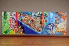 공주가 없는 공주 금강에서 acrylic on canvas 230X 660cm / 2012경남도립미술관
