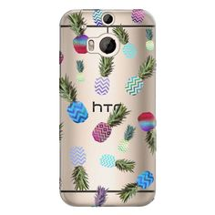 Samsung Galaxy / LG / HTC / Nexus Phone Case - CRAZY PINEAPPLE Crystal... ($40) ❤ liked on Polyvore featuring accessories, tech accessories and android case