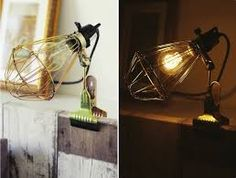hay clamp lamp - want!