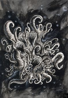 Azathoth by Julien Cittadino, *CRODEART on deviantART
