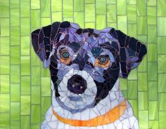 Meg the Terrier by siriusmosaics, via Flickr