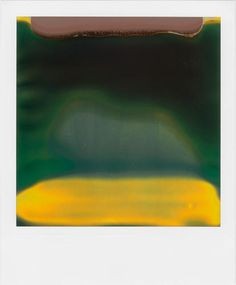 William Miller's Polaroid is broken in all the right places: It warps his film into something resembling abstract art. Human Rights Watch, Abstract Landscape, Abstract Art, Abstract Paintings, Polaroid Pictures, Polaroids, Contemporary Photography, Contemporary Art, Digital Photography