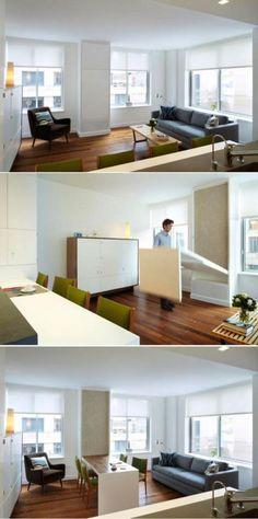 Стол-трансформер для гостиной: функциональное решение для любой площади - Colors.life