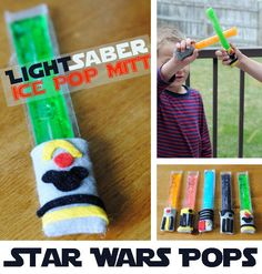 Star Wars Weekend Insipired Lightsaber Popsicles | Get Away Today Vacations - Official Site