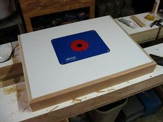 New Router Table: Creating The Top
