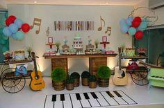 festa infantil instrumentos musicais - Pesquisa Google: