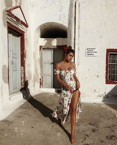 19 Moda Omuz Açık Elbise Modelleri - Trendler ve Moda Outfits For Teens, Cool Outfits, Summer Outfits, Summer Dresses, Evening Dresses, Prom Dresses, Look Fashion, Fashion Outfits, Fashion Styles