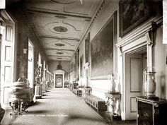 The Lothians: The Royal Residences of Queen Victoria - Buckingham Palace : Principal Corridor along the East Front Victoria Reign, Queen Victoria, Carlton House, British Monarchy History, Palace Interior, Royal Residence, Mansions Homes, Windsor Castle, Royal Palace
