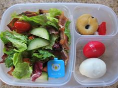 #Healthy salad packed for #lunch