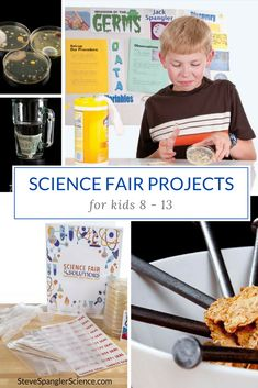Steve Spangler and his team of award-winning teachers will help you make your next science fair project a guaranteed success with our amazing science fair project kits, free science experiments and engaging how-to science project videos.