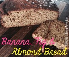 Recipe Banana, Fig & Almond Bread by livbambola, learn to make this recipe easily in your kitchen machine and discover other Thermomix recipes in Baking - sweet. Almond Bread, 5 Recipe, Banana Cream, Vanilla Essence, Round Cakes, Cake Tins, Frozen Banana, Sour Cream, Fig
