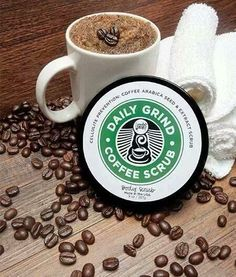 Daily Grind by Perfectly Posh! Cellulite prevention scrub made with Arabica seed and extract!