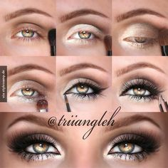 Smokey Eyes voller Dramatik