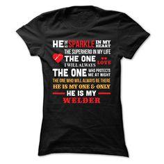 Welders Life Partner T-Shirts, Hoodies. Check Price Now ==► https://www.sunfrog.com/LifeStyle/Welders-Life-Partner-Ladies.html?41382