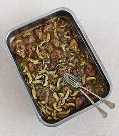 Szeretnéd meglepni a családot valami újdonsággal? Sausage, Bacon, Paleo, Beans, Food And Drink, Vegetables, Cooking, Ethnic Recipes, Kitchen