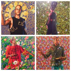 Inspired by the old masters and young street wear is the stunning art from #kehindewiley