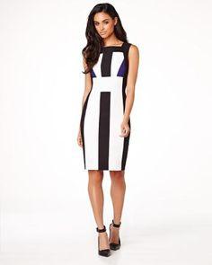 RW&co Modern Chic colour block dress