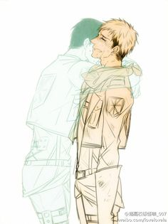 Marco x Jean--> this really makes me want to cry