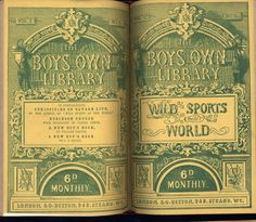 "The Boy's Own Library. Published by S O Beeton. 1861. The British Library copy is at Shelf mark 12804i31. Paper covers for all parts. Each priced at 6d. Vol. 1 has parts 1-8: serialisation of  ""Wild sports of the World""; vol. 2 has parts 9-16, serialisation of : Phaulcon; or, the Ship Boy who became Prime Minister""; vol. 3 has parts 17-25, serialisation of : ""Curiosities of Savage Life""."