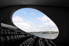 Since 1998 the Web Atlas of Contemporary Architecture Theater Architecture, Building Architecture, Unusual Buildings, Building Structure, Window Frames, Contemporary Architecture, More Photos, Airplane View, Centre