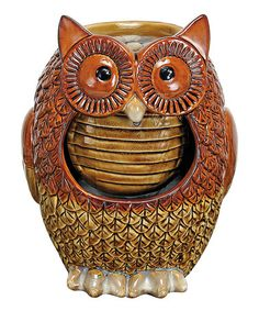 Loving this Owl Water Fountain on #zulily! #zulilyfinds
