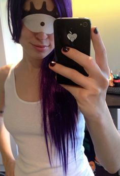 mesh eye mask close up