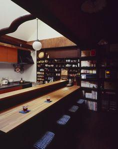 Loft-house in Kyoto.