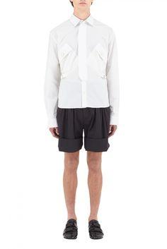 """Patch Pocket Shirt w/ Belt"" by J.W. Anderson."